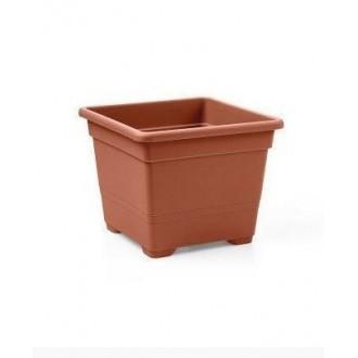 Quadrato Vaso 32 Terracotta