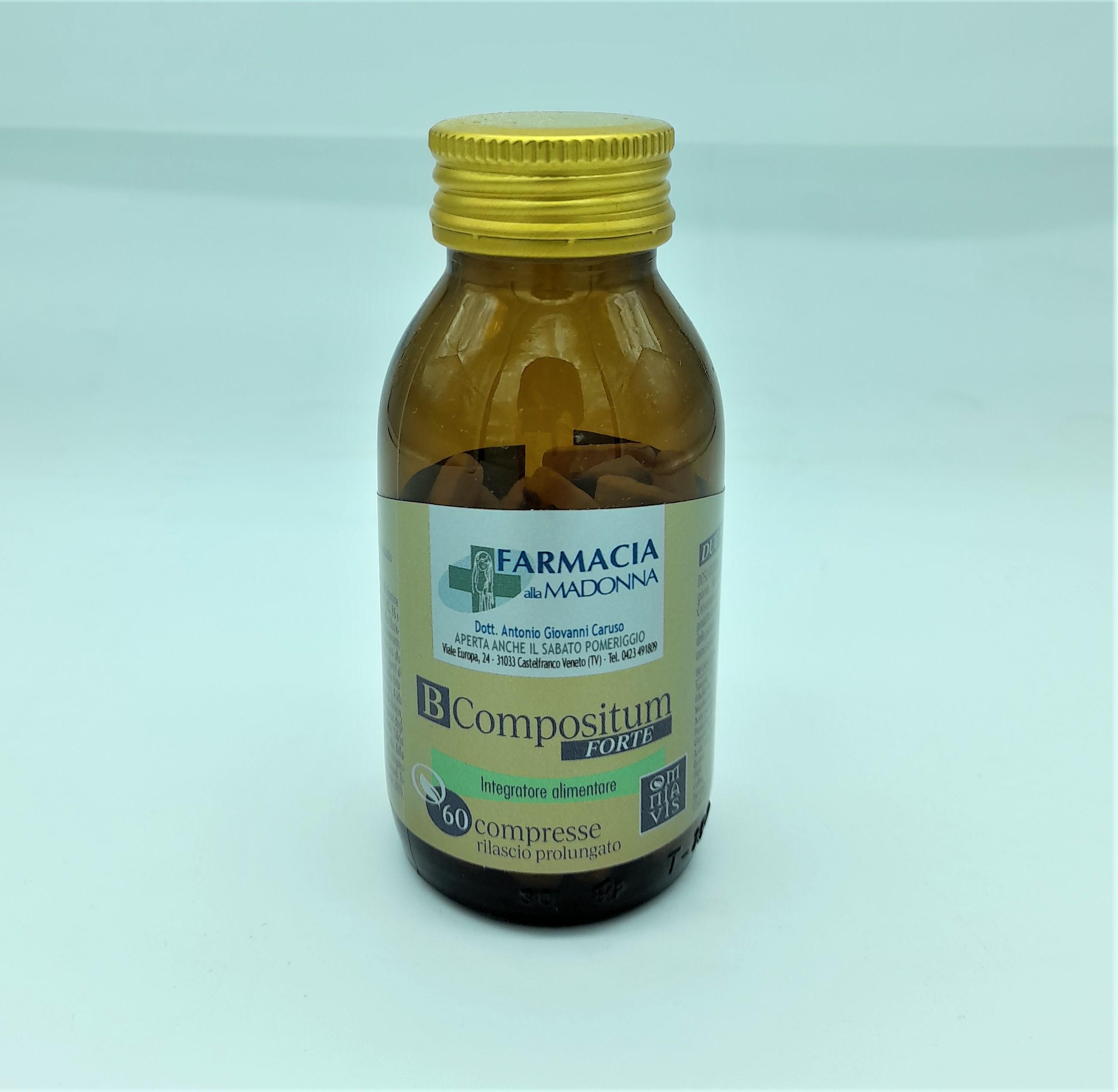 B COMPOSITUM FORTE, Farmacia alla Madonna