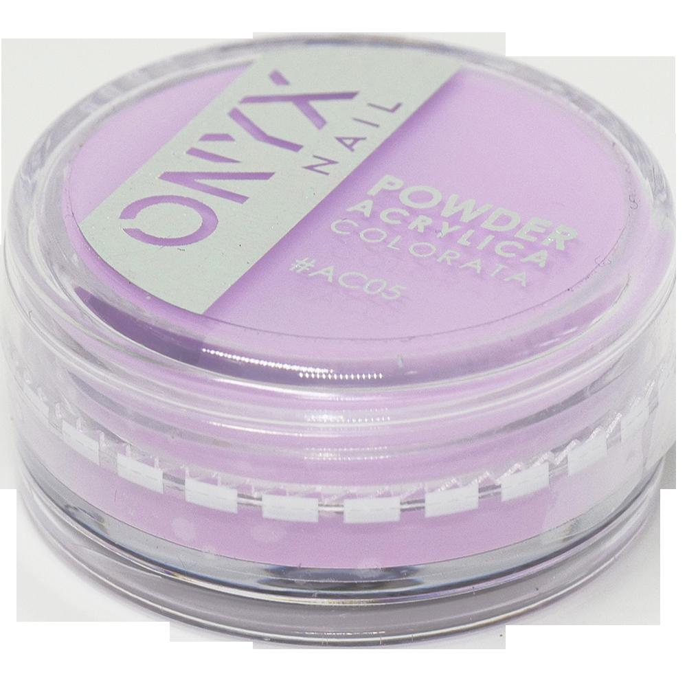 Polvere Acrilica Colorata OnyxNail - COLORE #AC05 - Colore : Lavanda