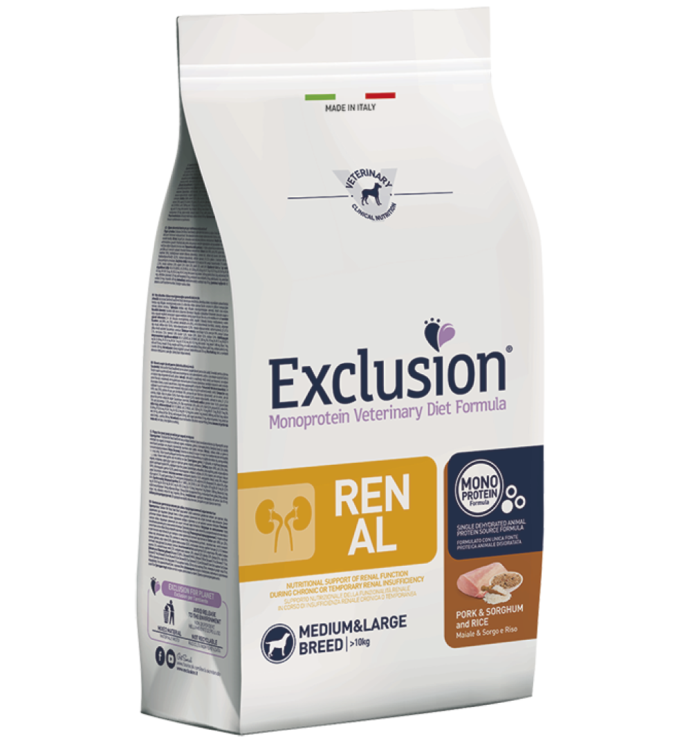 Exclusion - Veterinary Diet Canine - Renal - Medium/Large - 2kg