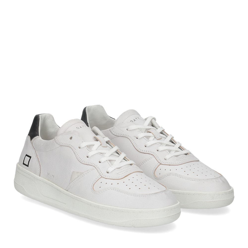 D.A.T.E. Court calf white black
