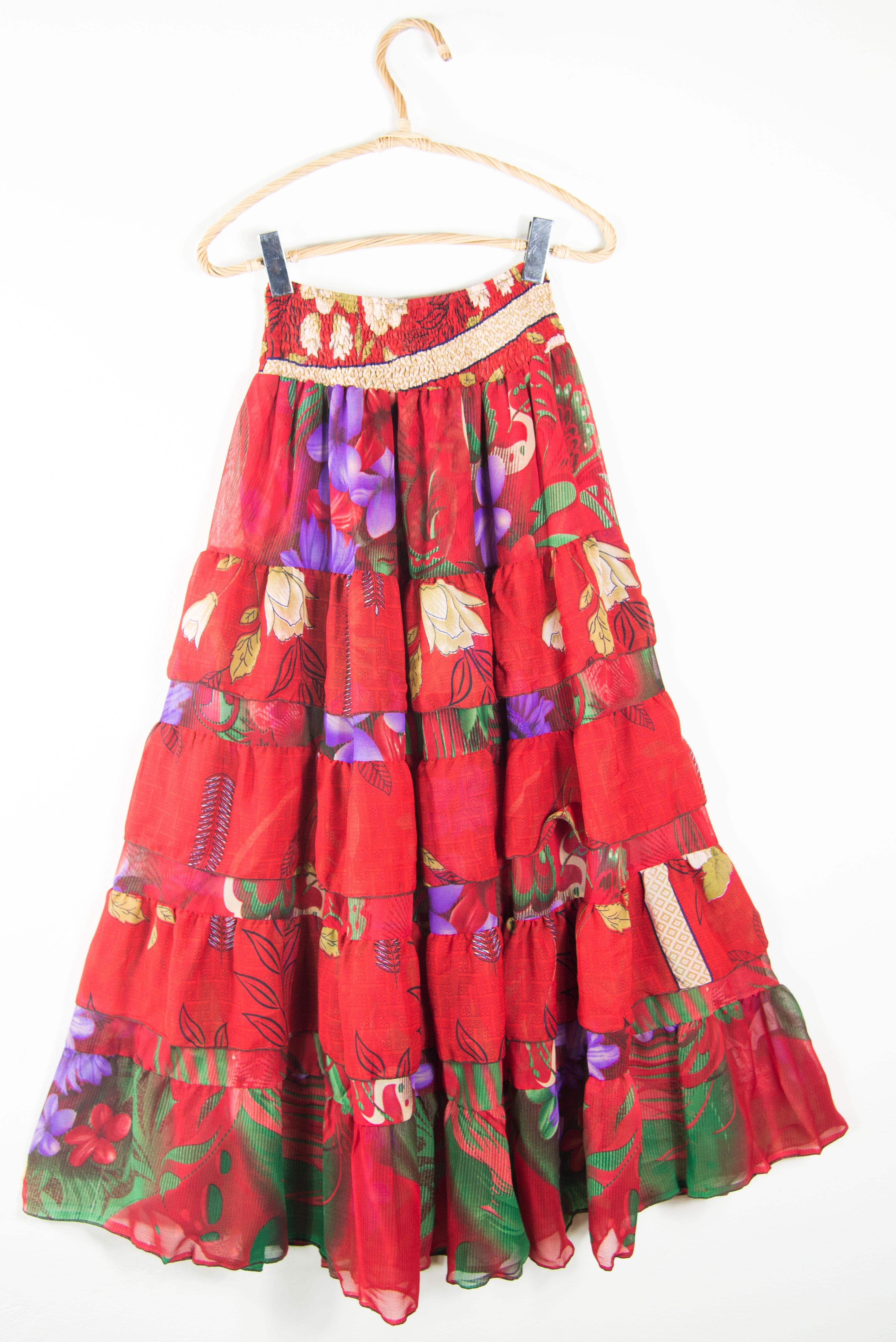 Gonna stile etnico. Abbigliamento donna on line
