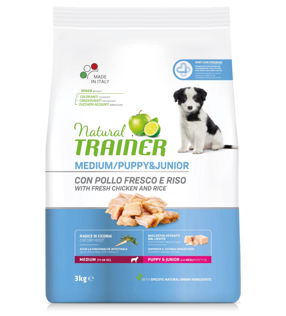 Trainer Natural - Medium - Puppy&Junior - 12 kg