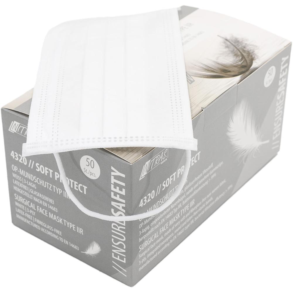 Mascherine Antipolvere - Bianche/White 50 pezzi