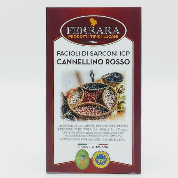 FAGIOLI IGP SARCONI CANNELLINO ROSSO GR 500