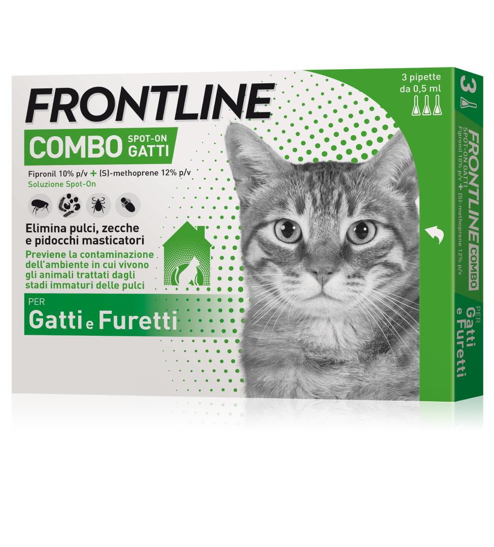 Frontline - Combo Gatto - 3 pipette