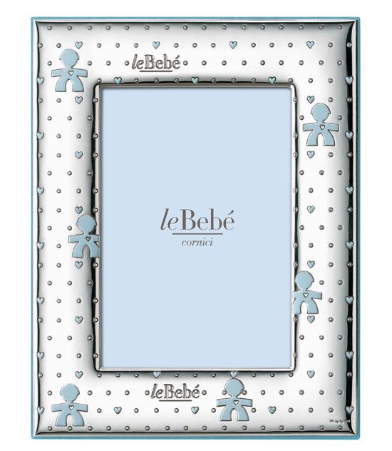 LeBebé Cornice Linea Bubble - Celeste 10x15