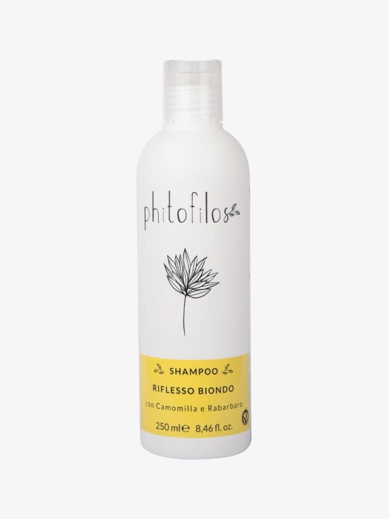 Shampoo riflesso biondo - Camomilla e Rabarbaro 250 ml