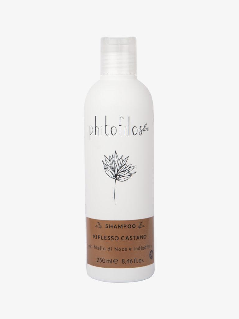 Shampoo riflesso castano - Mallo e Indigofera 250 ml