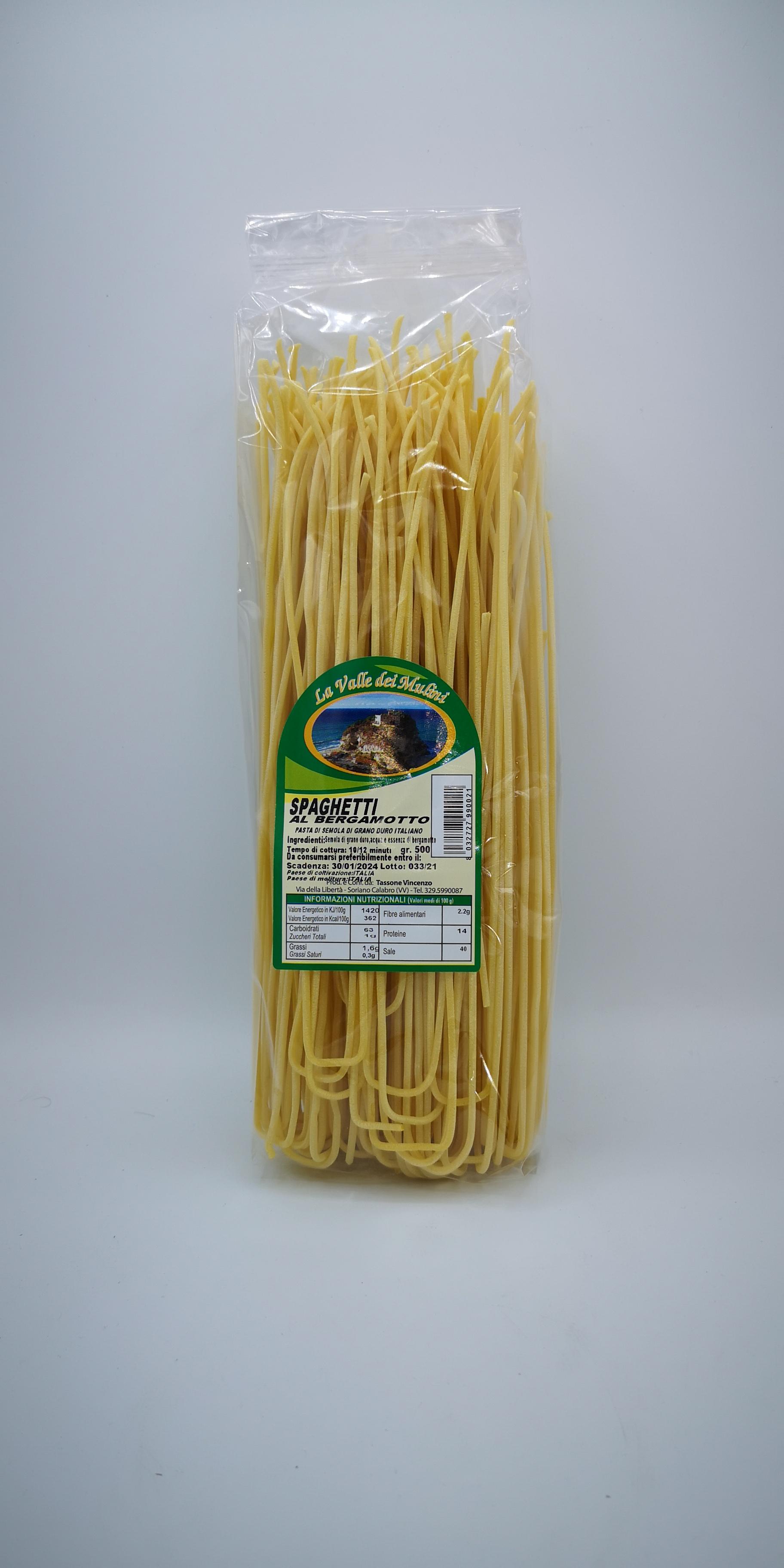 La Valle dei Mulini Spaghetti al Bergamotto GR.500