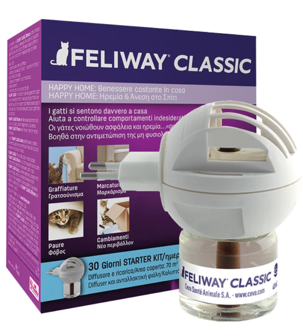 Ceva - Feliway Classic Starter Kit (Diffusore + Ricarica)