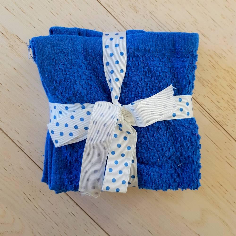 Set 5 lavette chicco di riso blu