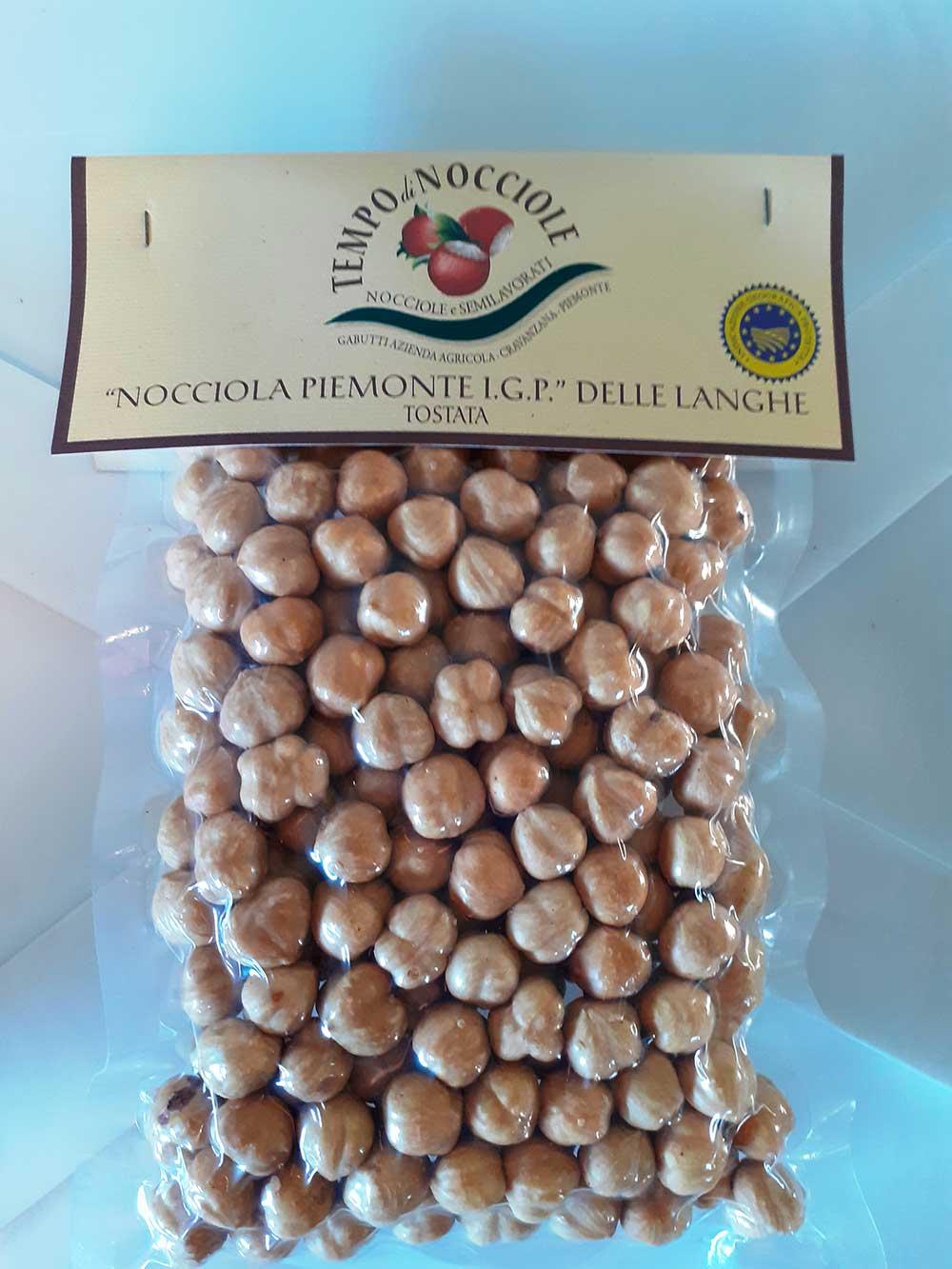 NOCCIOLA PIEMONTE IGP DELLE LANGHE TOSTATA  500 gr