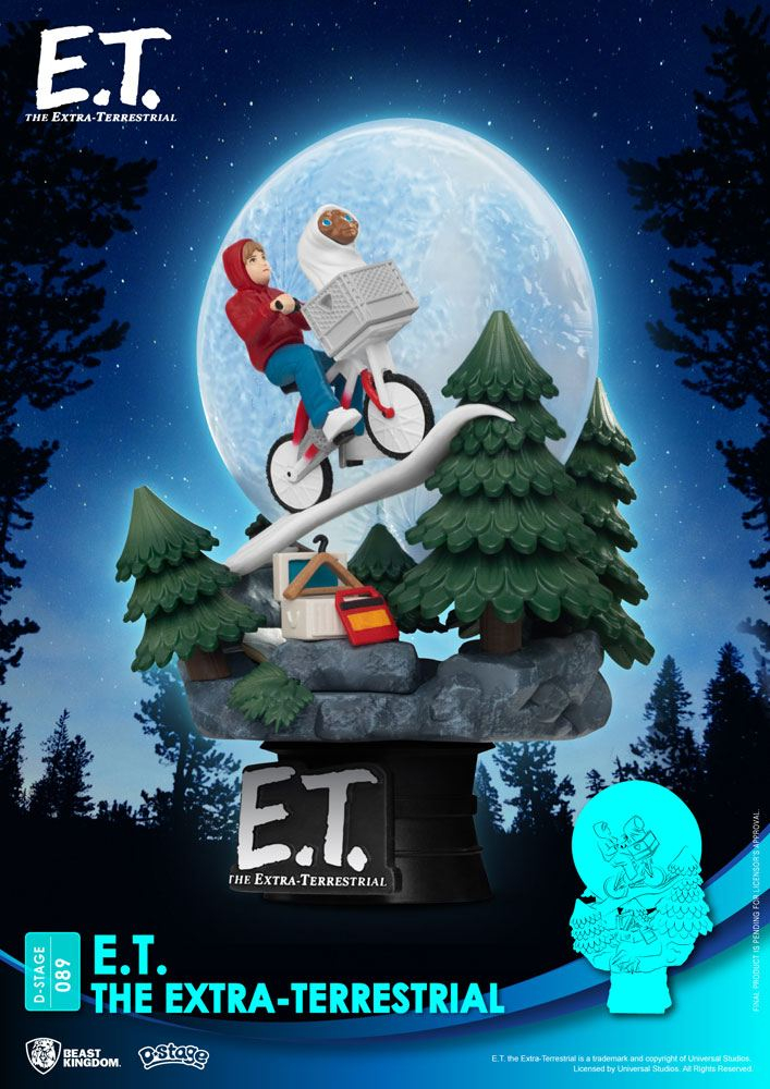 *PREORDER* E.T. The Extra-Terrestrial D-Stage: ICONIC SCENE – MOVIE SCENE by Beast Kingdom