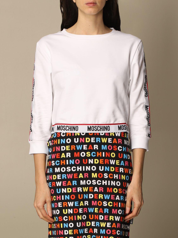 Felpa donna moschino underwear