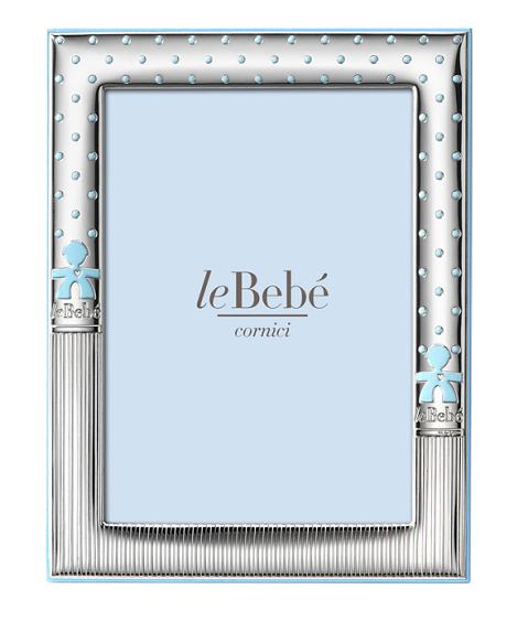 LeBebé Cornice Linea Bubble - Celeste 9x13