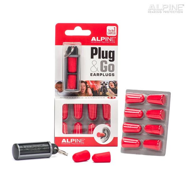 ALPINE TAPPI PER ORECCHIE PLUG&GO CON TRAVEL BOX
