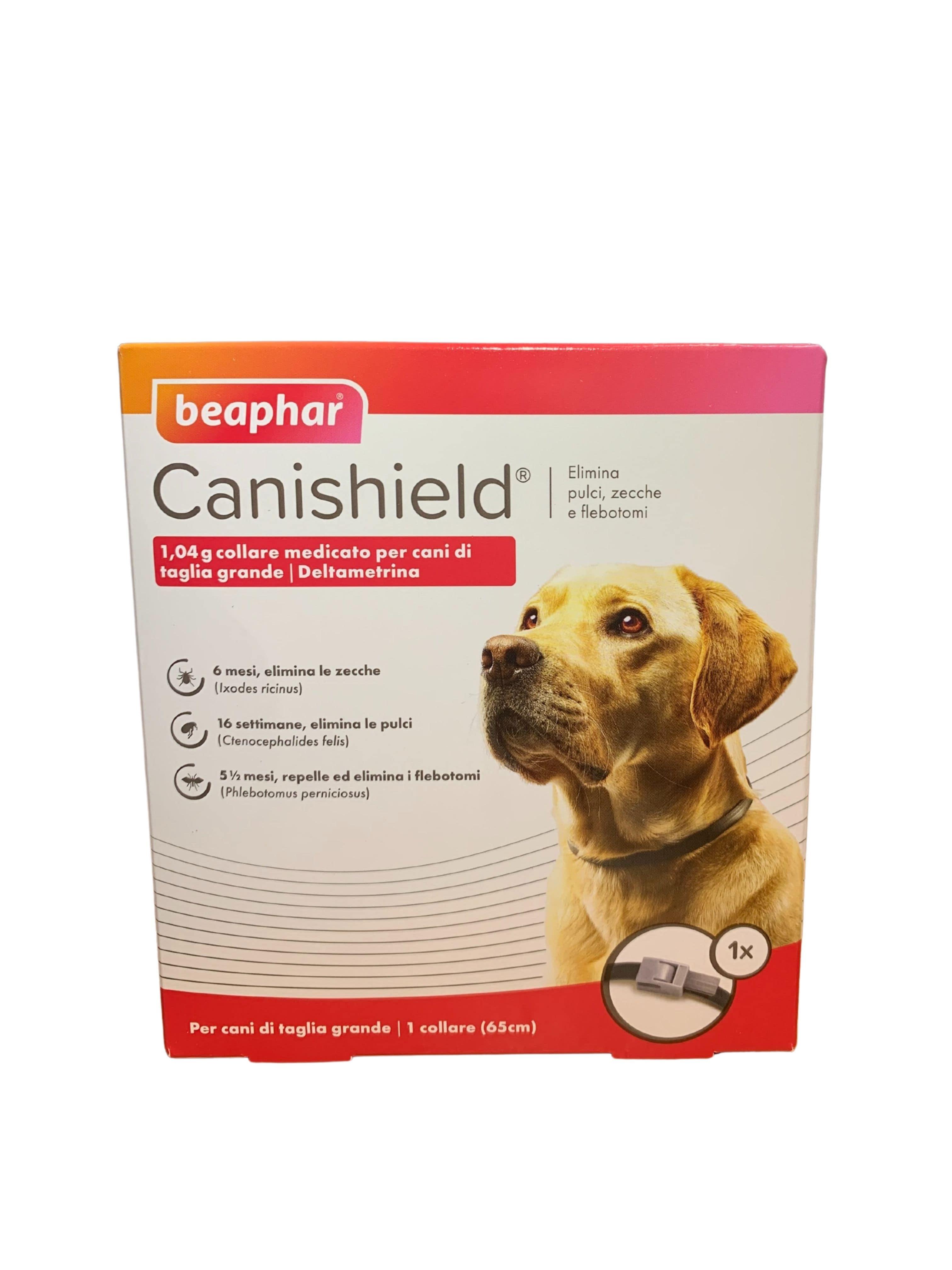 CANISHIELD L 65 cm (1 pezzo) – Collare antiparassitario per cani di grande taglia