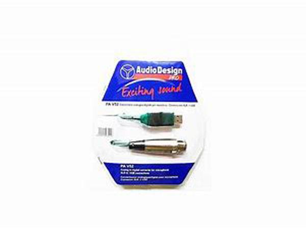 AUDIODESIGN CONVERTITORE USB PER MICROFONO PAV52