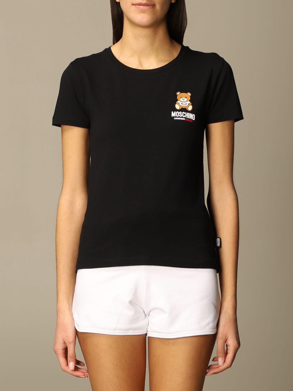 T-shirt moschino underwear  nera
