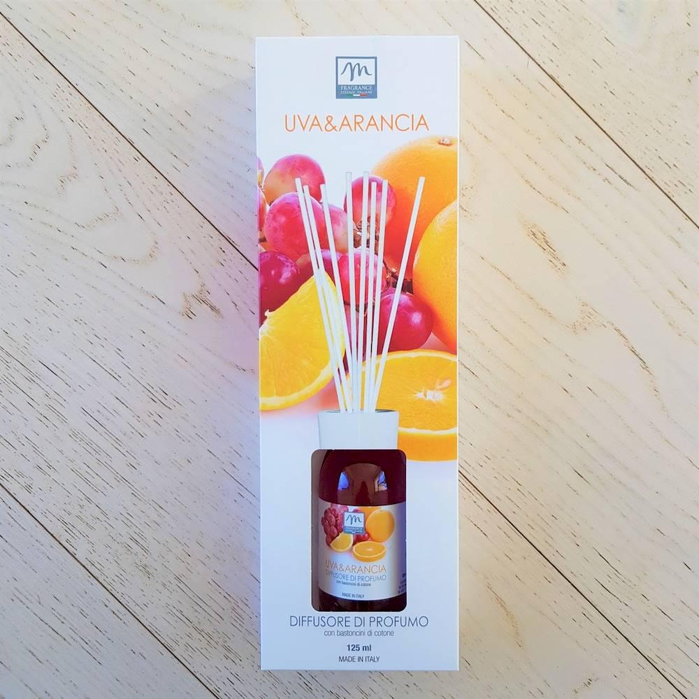 Profumatore per ambiente Uva e arancia