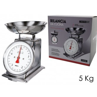 Bilancia Cu.5KG.Acciaio
