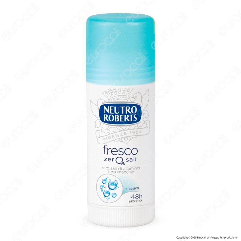 NEUTRO ROBERTS Deodorante stick fresco blu 40 ml
