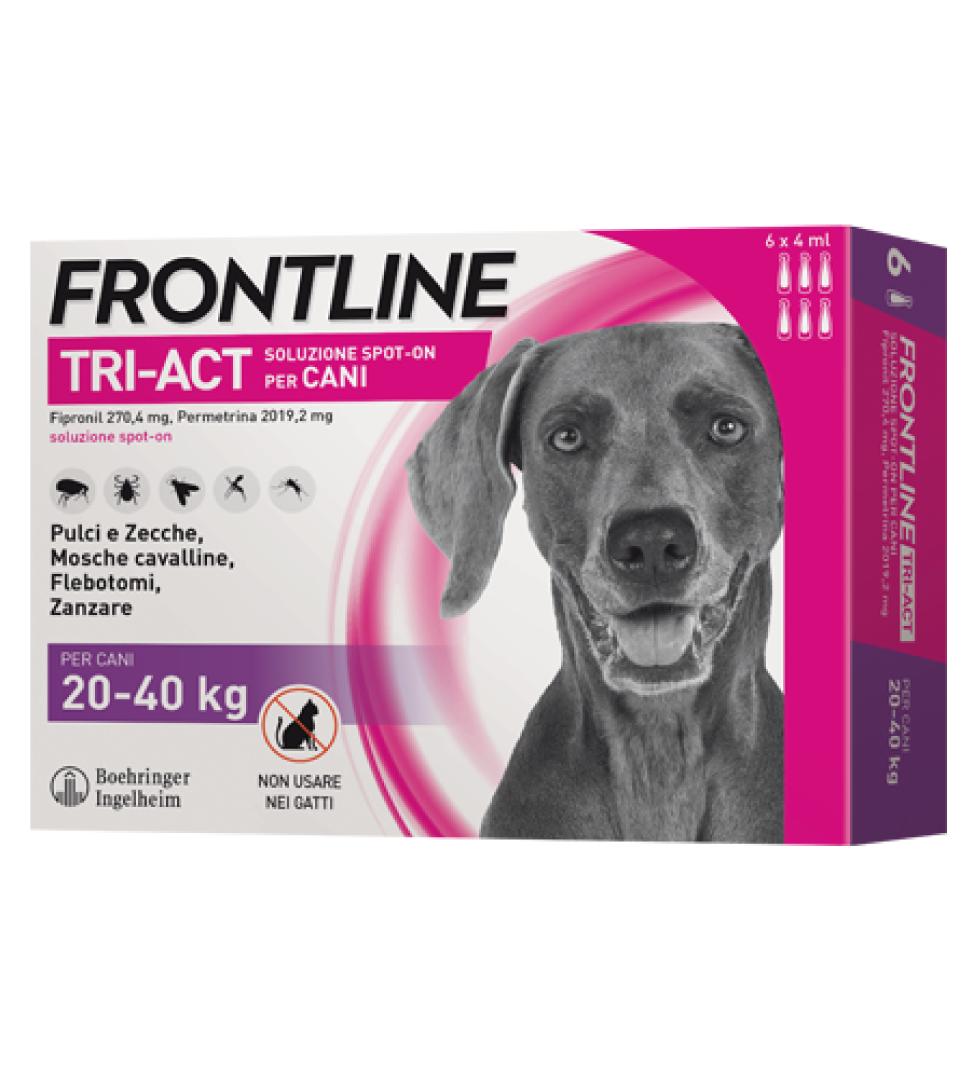 Frontline - TriAct - Da 20 a 40 kg - 6 pipette