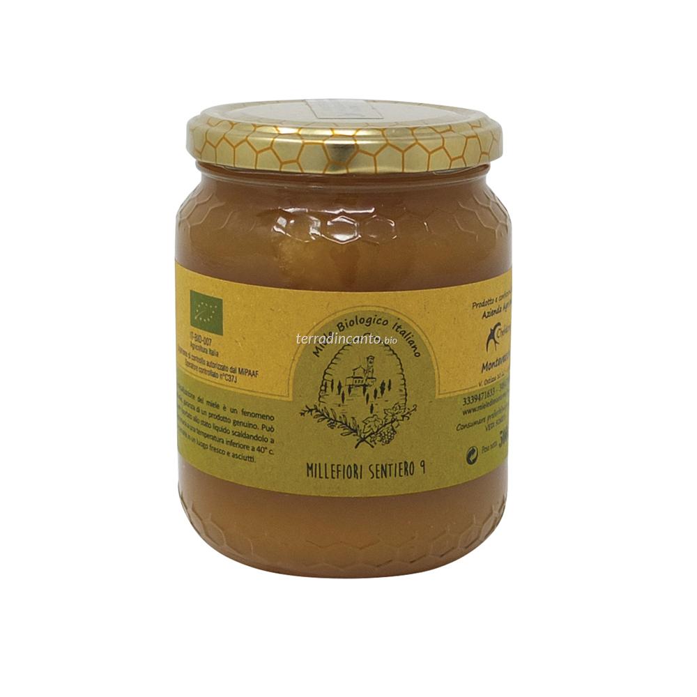 Miele Millefiori Bio 500 Gr Chelidonia Parco di Montevecchia