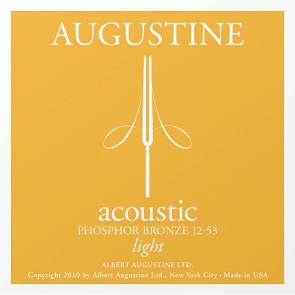 AUGUSTINE MUTA PHOSPHOR BRONZE LIGHT 12-53