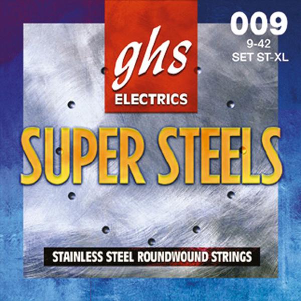 GHS MUTA CORDE STAINLESS STEEL 9-42