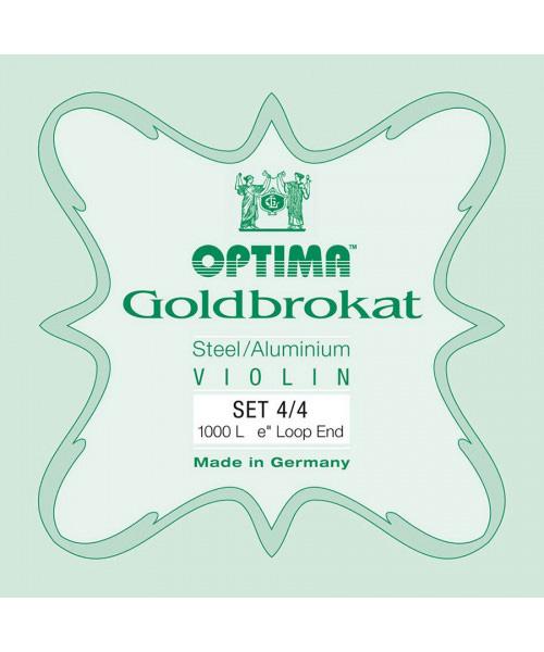 OPTIMA GOLDBROKAT CORDE PER VIOLINO 1000-L