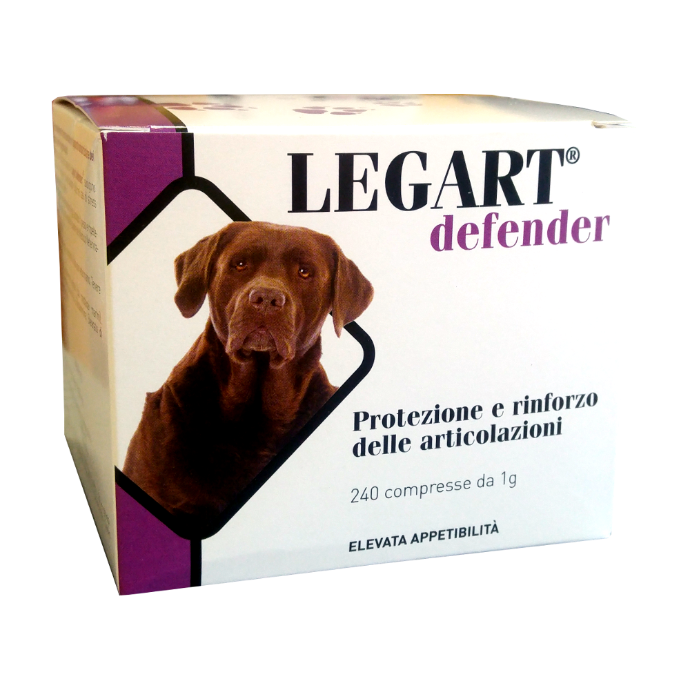 legart cani legart defender 240 cpr condroprotettore per cani