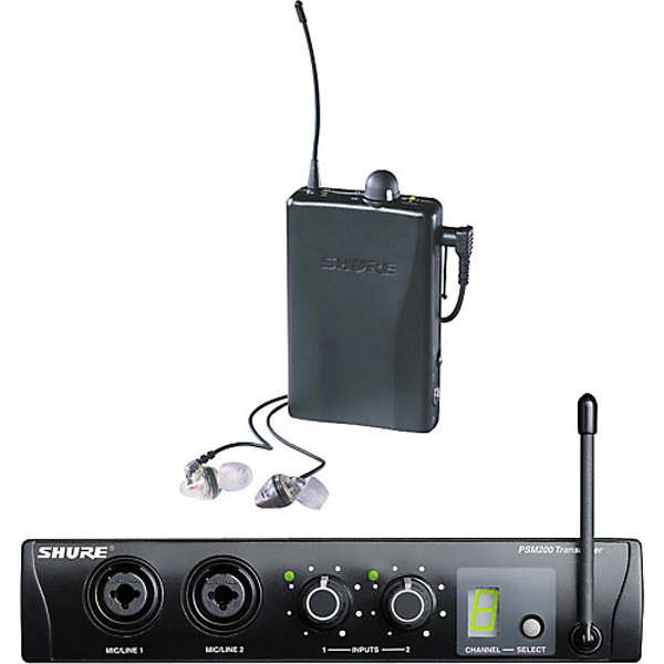 SHURE PSM200 PERSONAL MONITOR WIRELESS