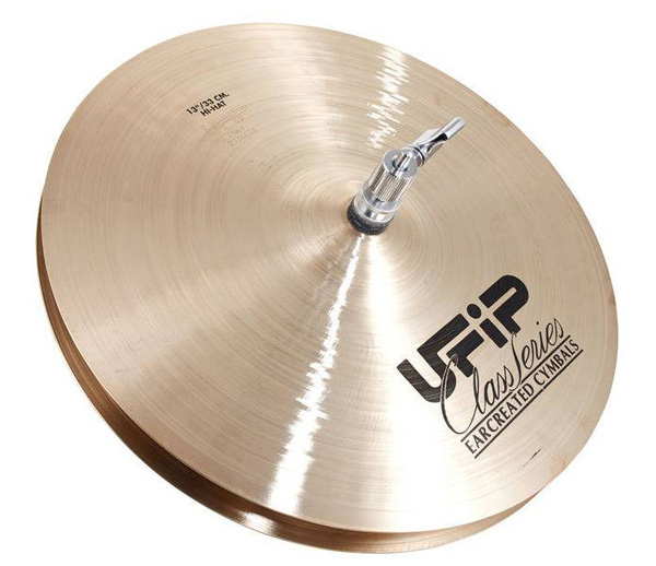 UFIP PIATTO BRILLANT SERIES HI-HATS DA 13