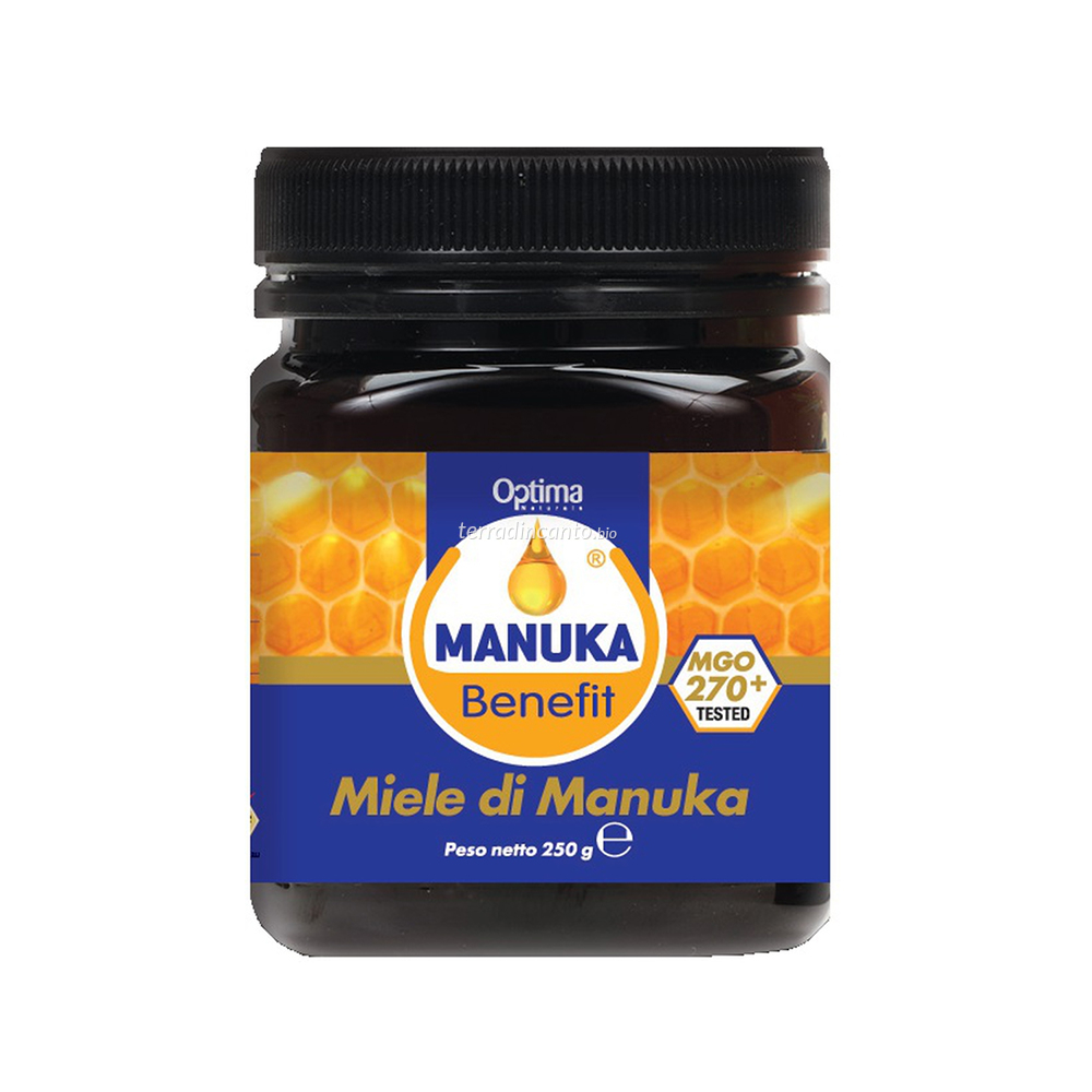Miele di Manuka Nuova Zelanda 250 Gr Benefit 270 Mgo