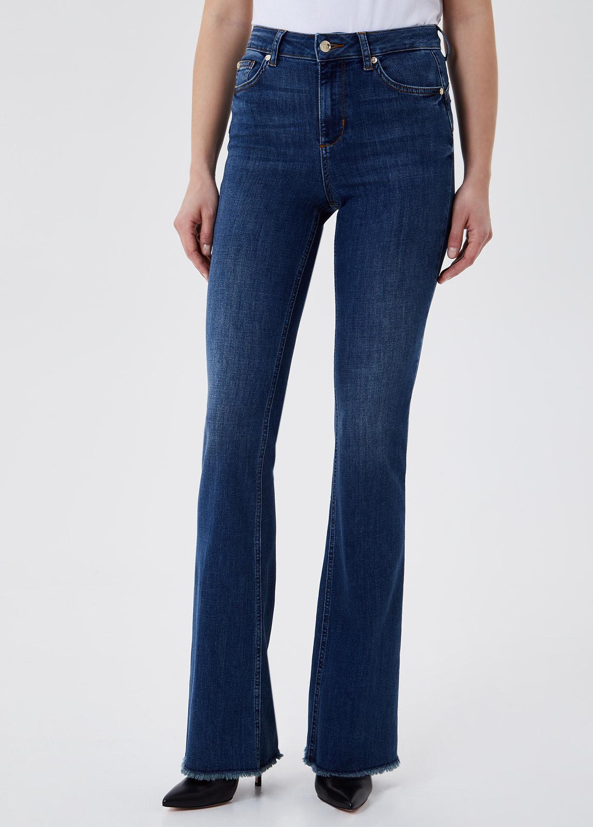 LIU JO  UA1015D453878138 Jeans a zampa