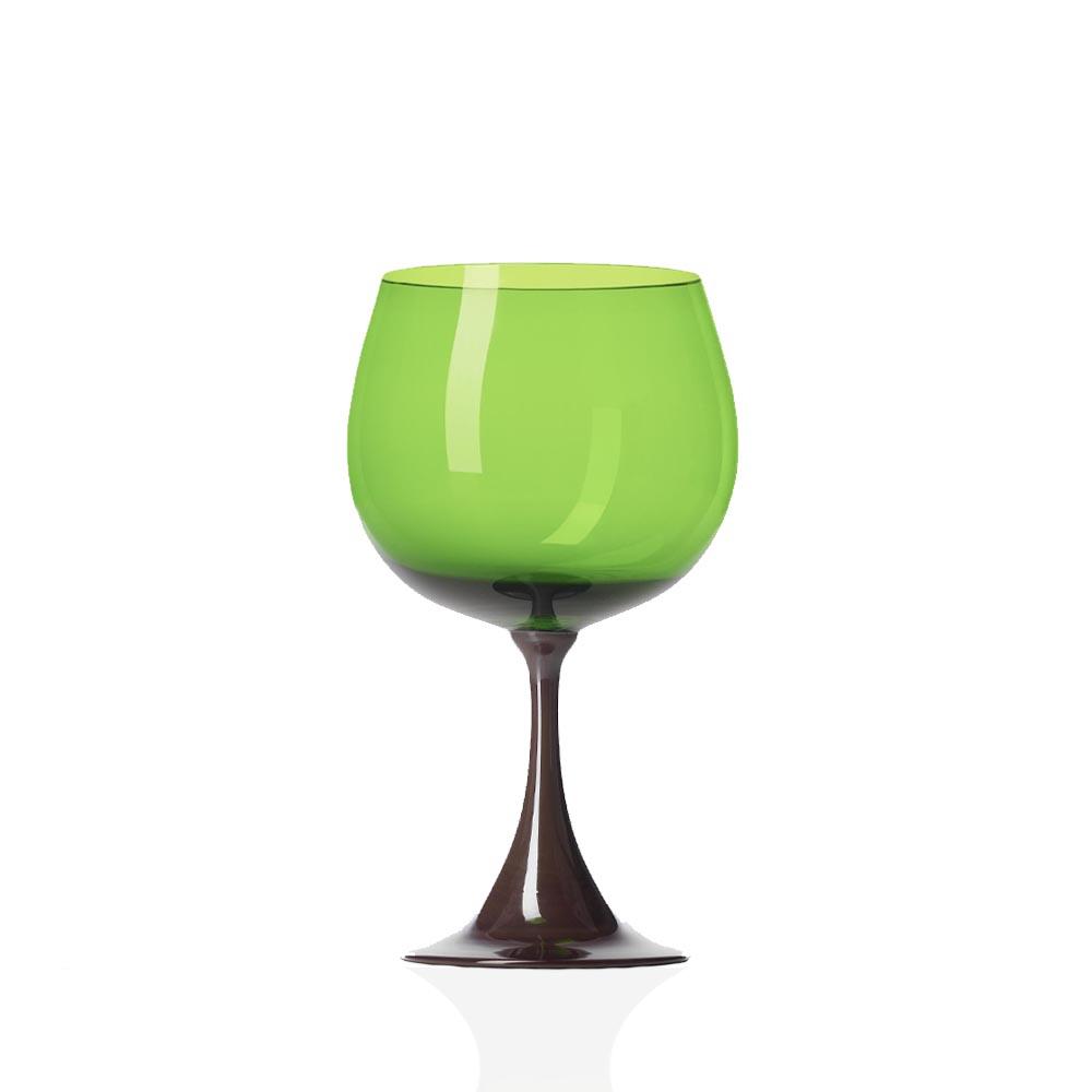 Calice Borgogna Burlesque Mirtillo-Verde