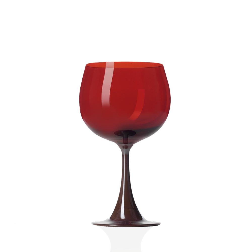 Calice Borgogna Burlesque Mirtillo-Rosso