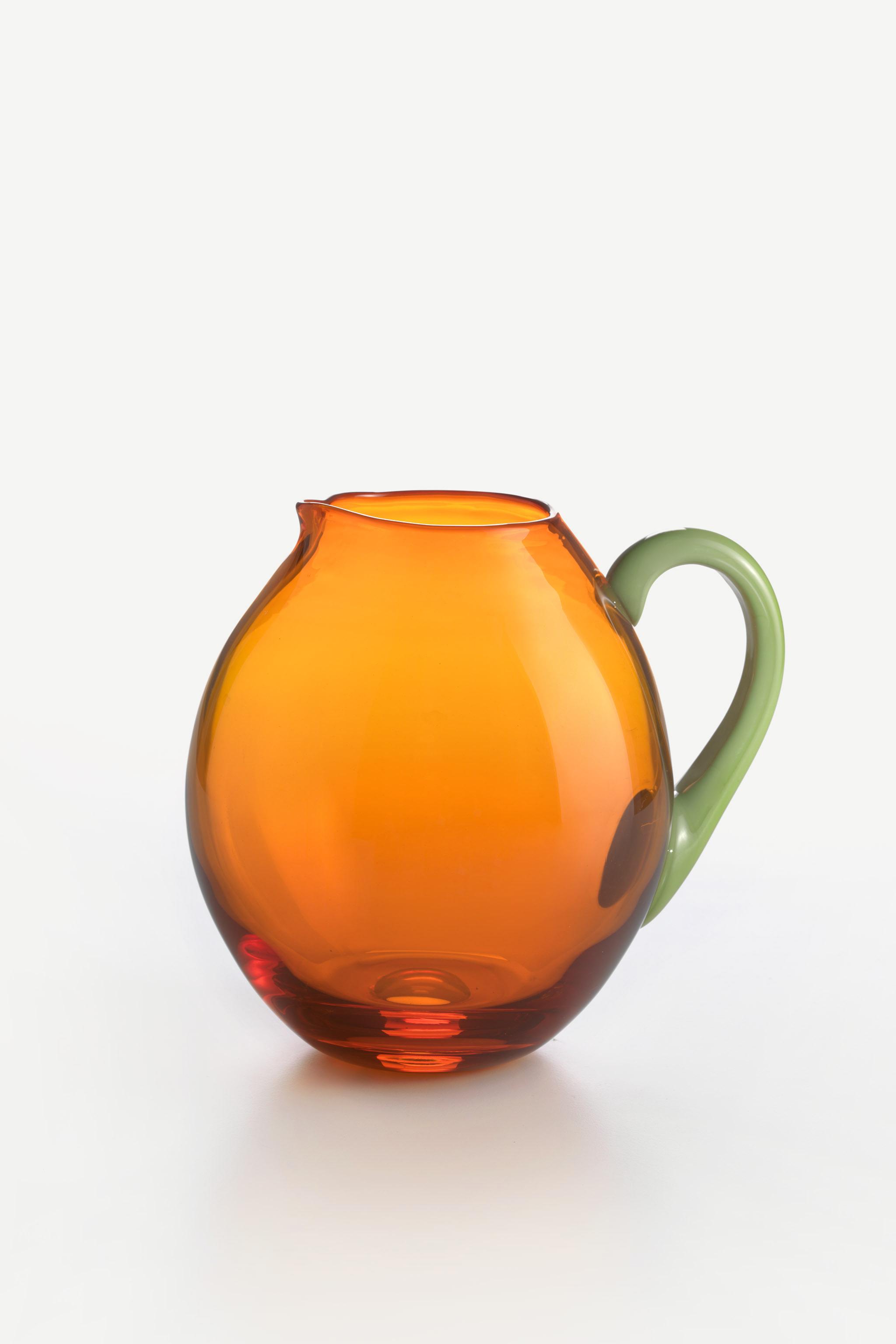 Caraffa Dandy Pisello Arancio