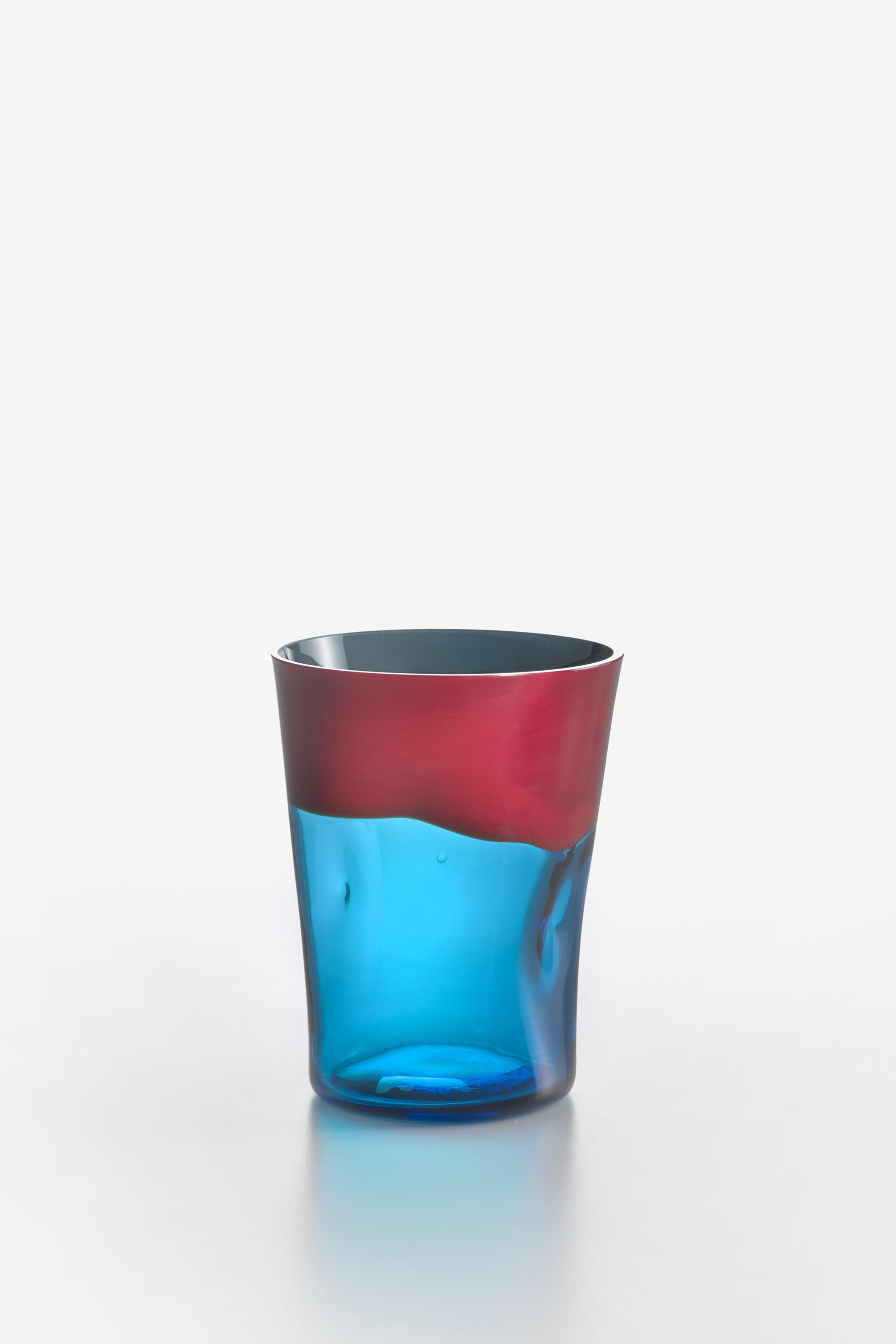 Bicchiere Acqua Dandy Corallo Acquamarina