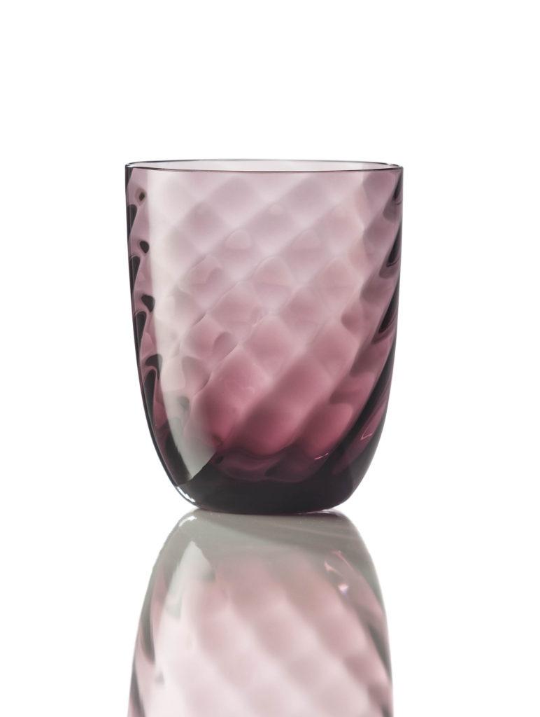 Bicchiere Ottico Torsè Violetto
