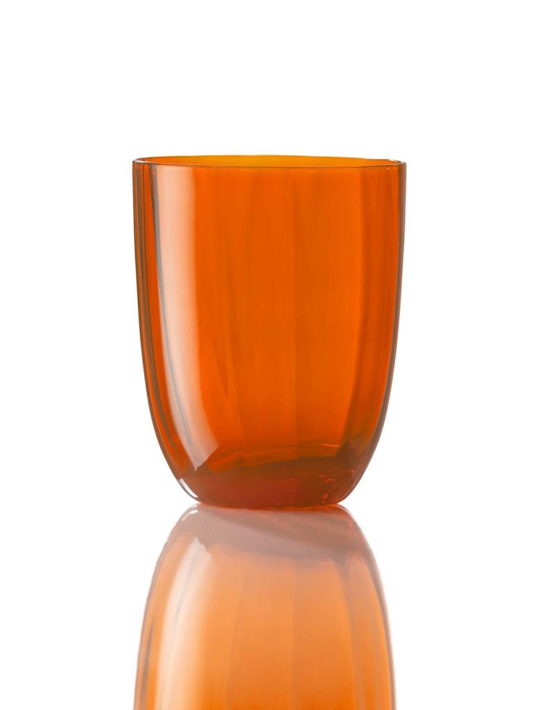 Bicchiere Idra Ottico Arancio