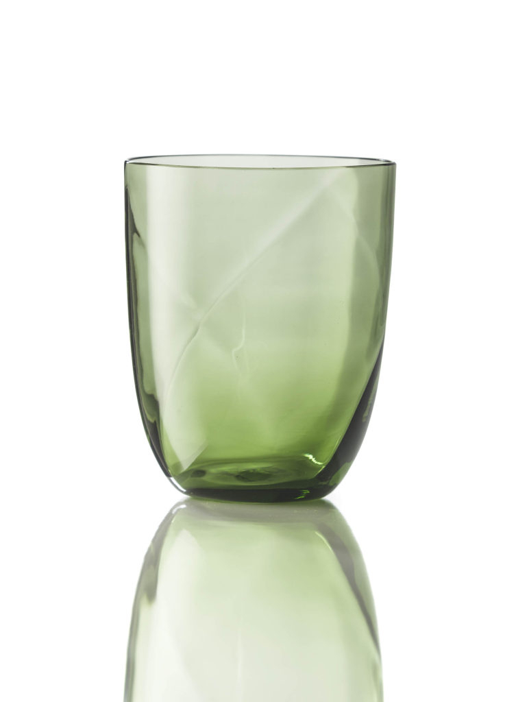 Bicchiere Idra Lente Verde Soraya