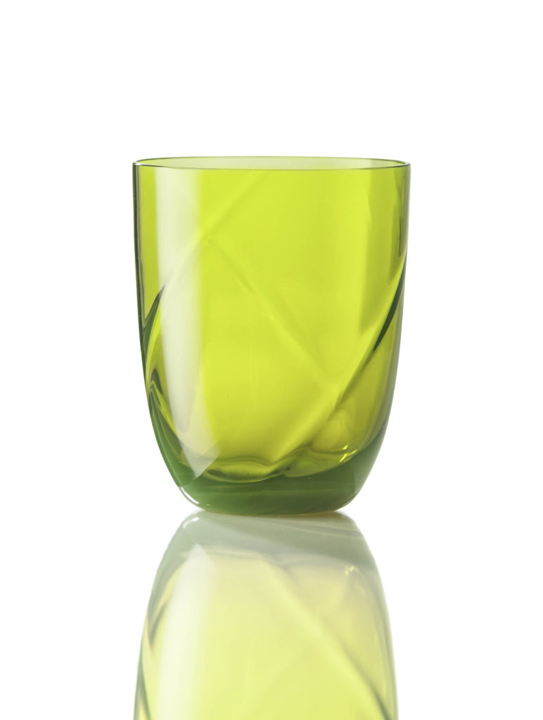 Bicchiere Idra Lente Verde Acido