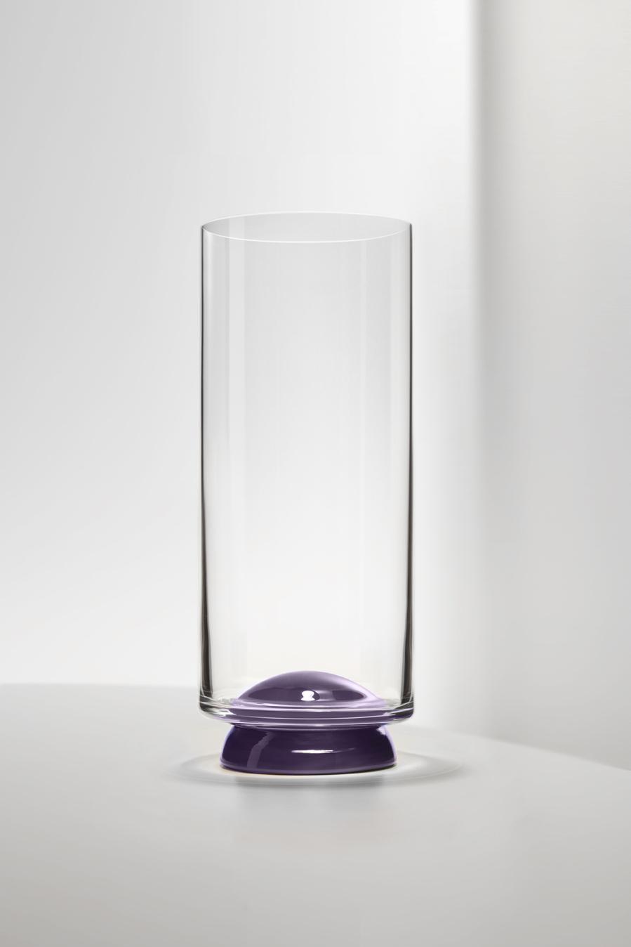 Bicchiere Flûte Dot Mirtillo