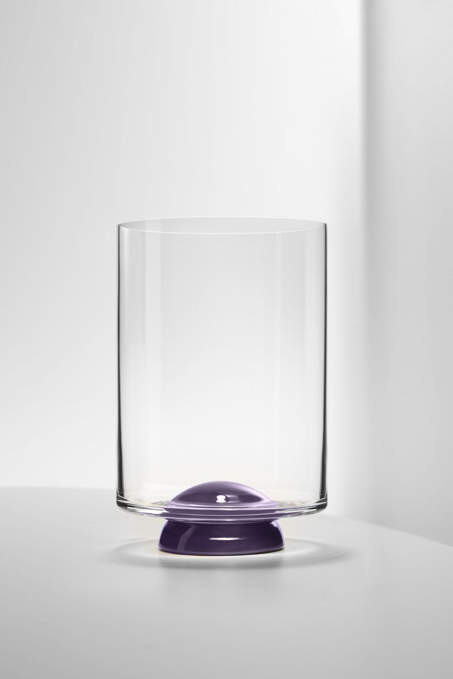 Bicchiere Acqua Dot Mirtillo