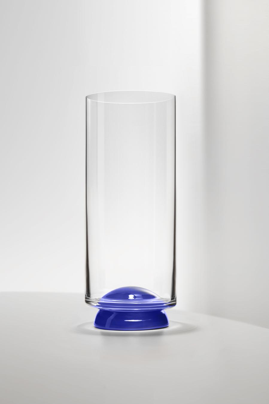 Bicchiere Flute Dot Blu