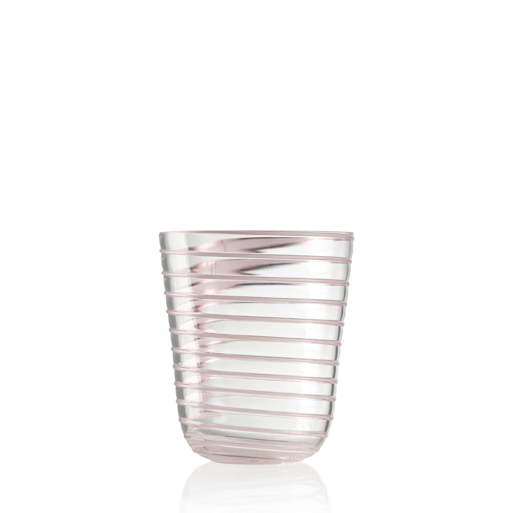 Bicchiere Acqua Twist Viola