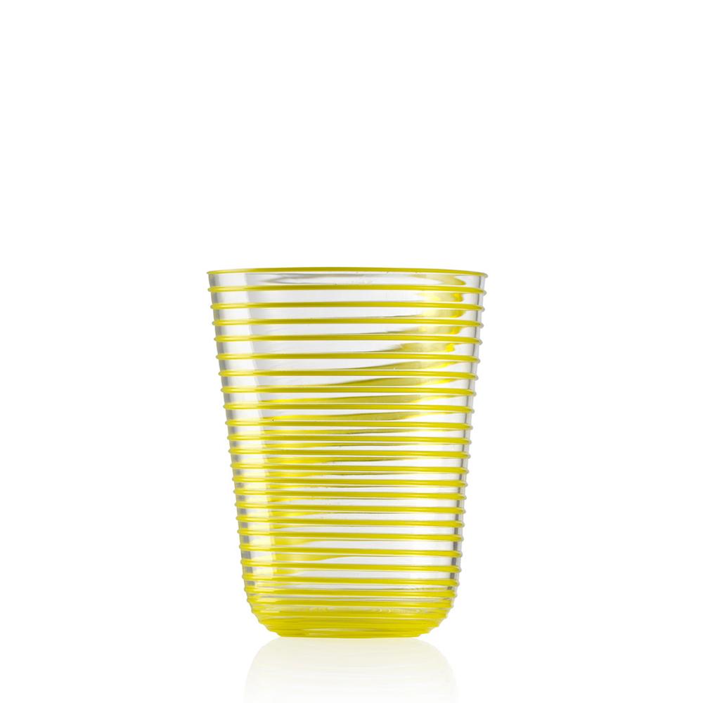 Bicchiere Bibita Twist Giallo